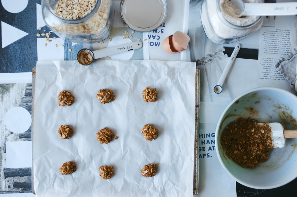 oatmeal hazelnut cookies