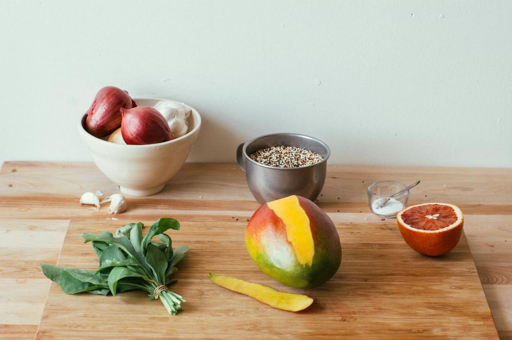Quinoa And Mixed Veggie Salad (GF, V) Recipes — Dishmaps