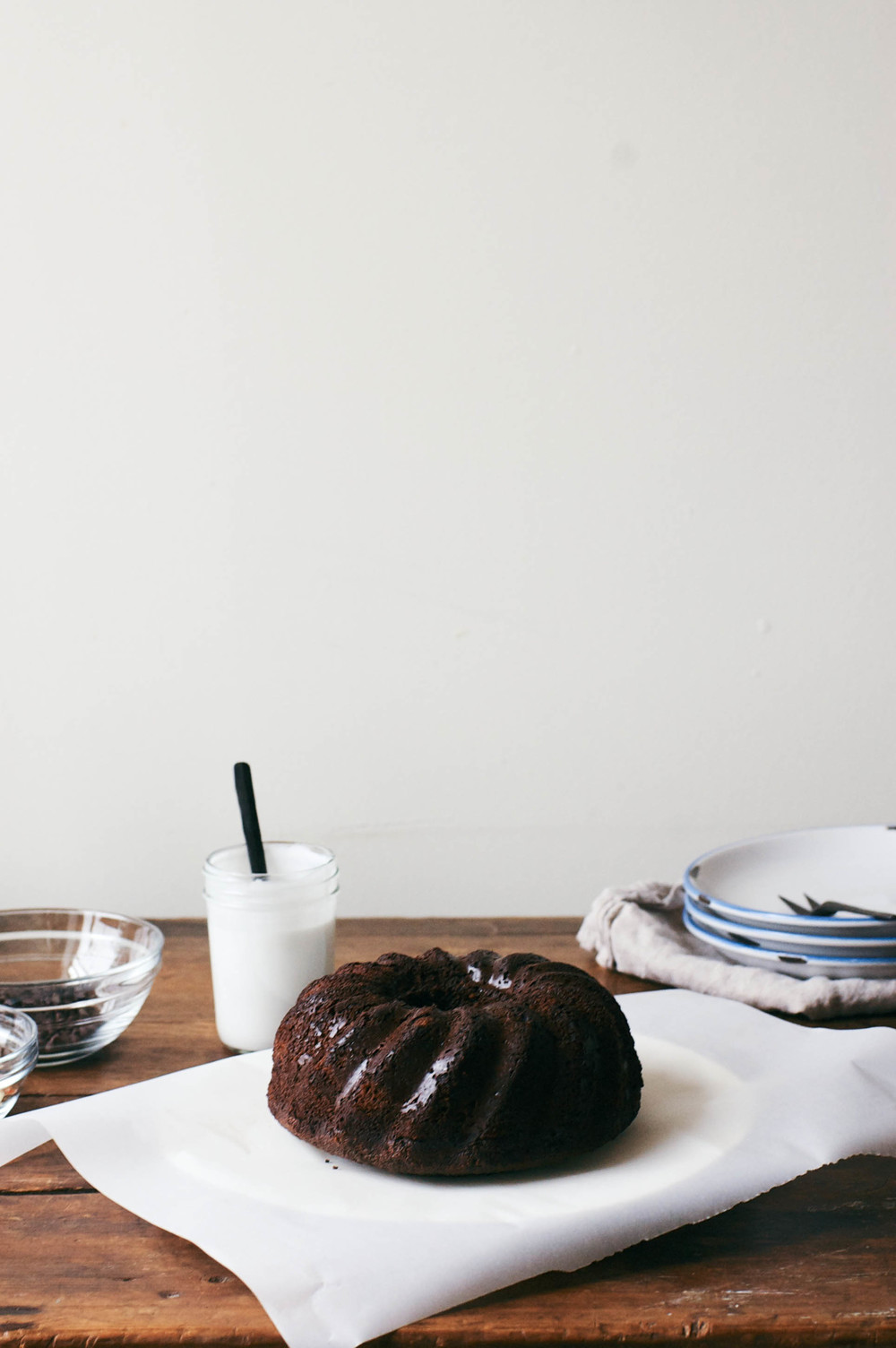 olive oil choc. bundt