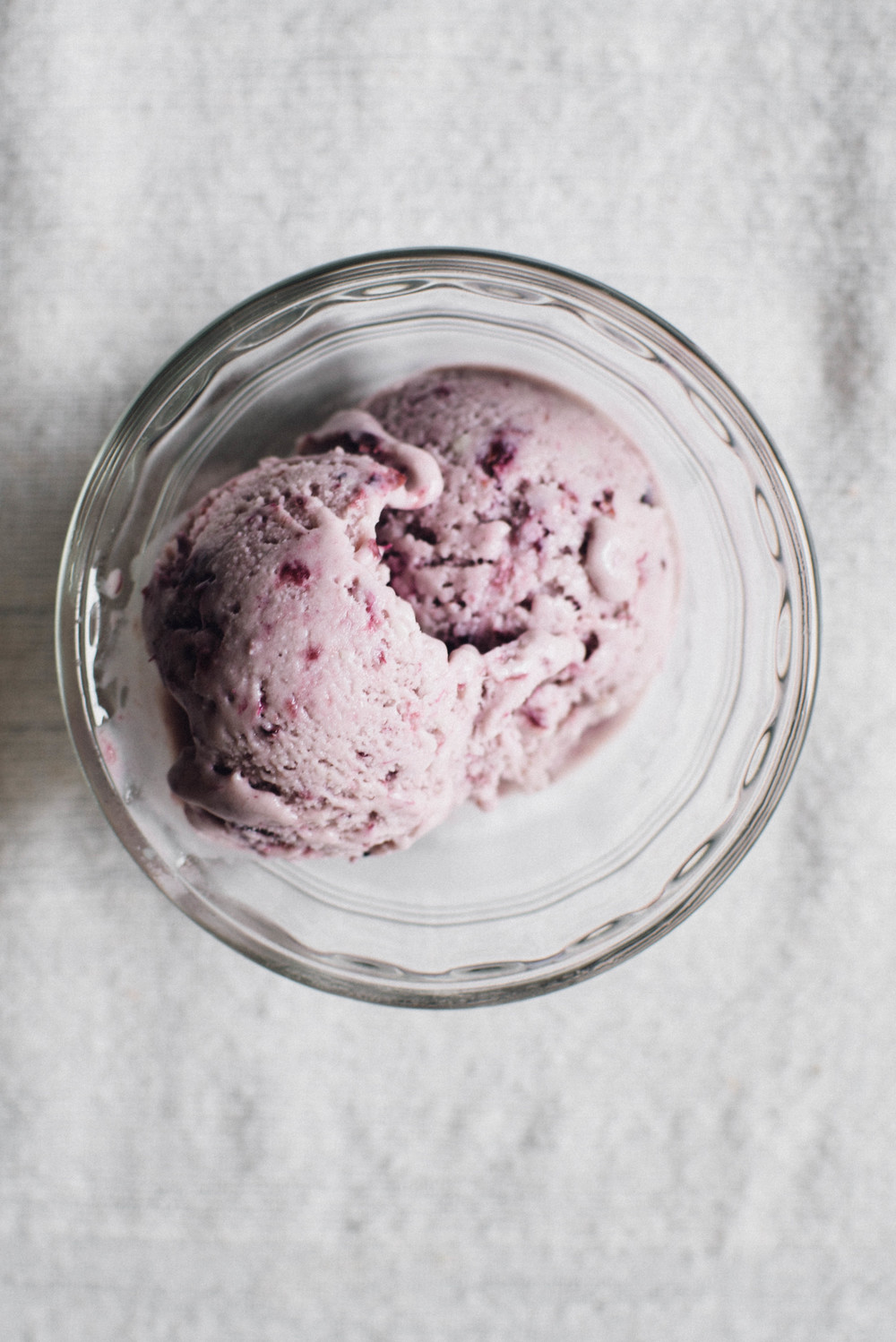 coconut blue-barb ice cream | dolly and oatmeal
