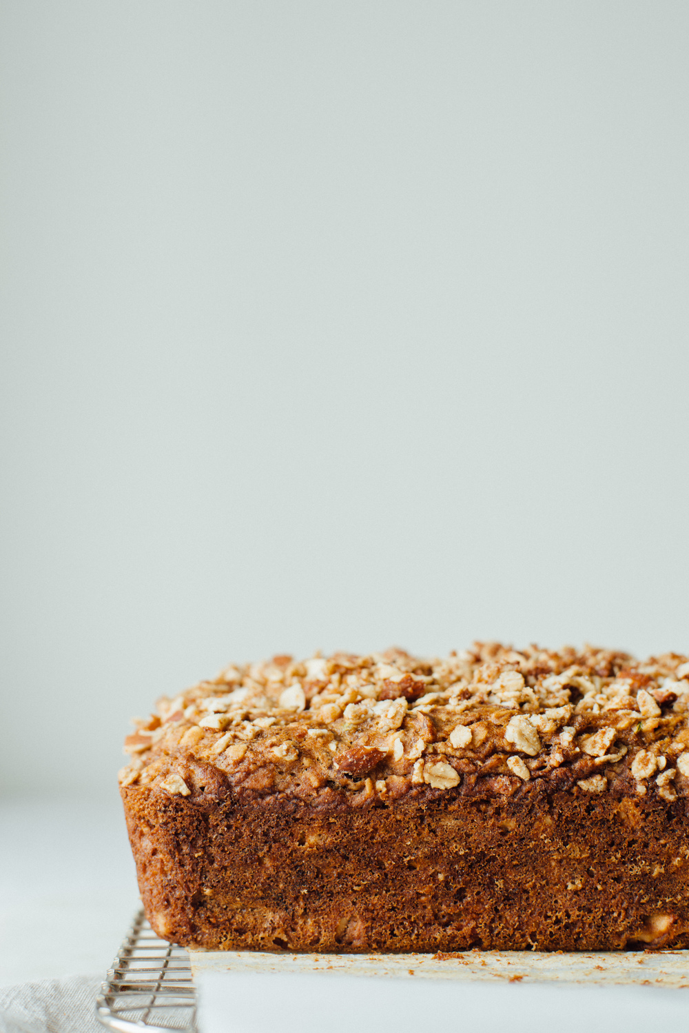 summer squash + banana-oat loaf | dolly and oatmeal