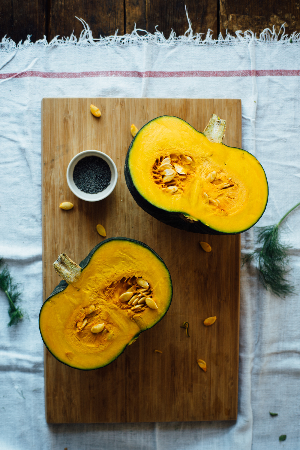 kabocha squash | dolly and oatmeal