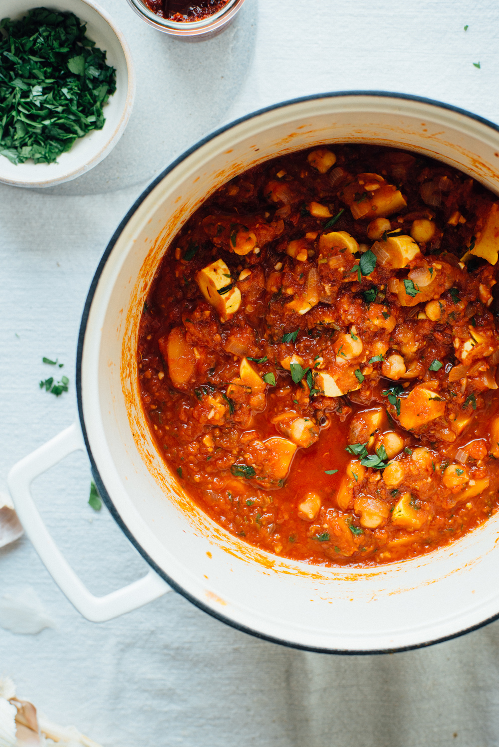 spicy chickpea stew w/ quinoa pilaf + a giveaway! / October 28, 2014 ...