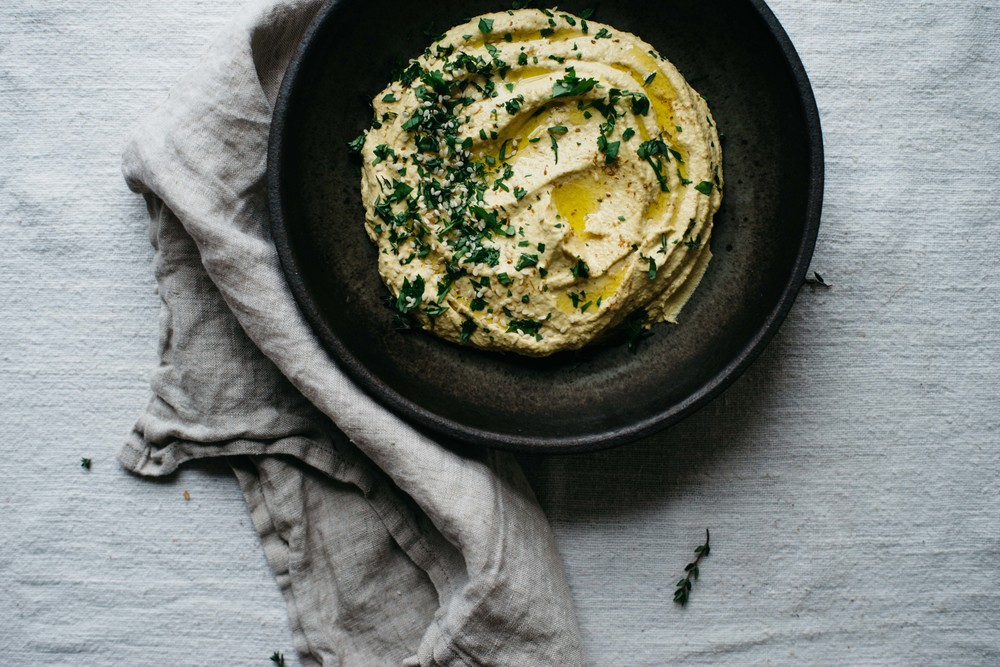 roasted golden beet + shallot dip | dolly and oatmeal