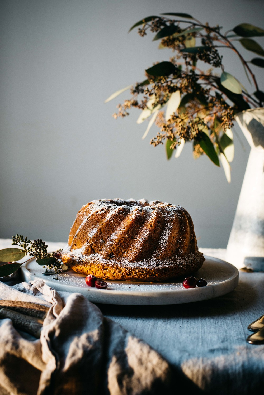 holiday bundt cake