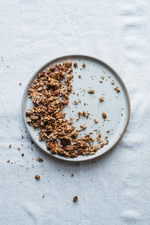 (mini) granola + pear scones   dolly and oatmeal