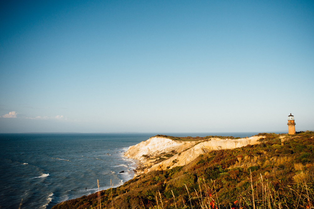 aquinnah cliffs | dolly and oatmeal
