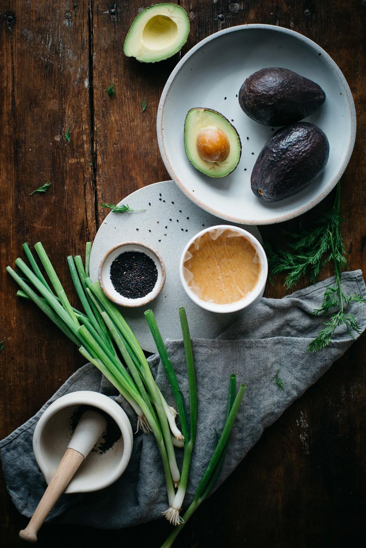 miso-tahini avocado toast w/ black sesame gomasio | dolly and oatmeal