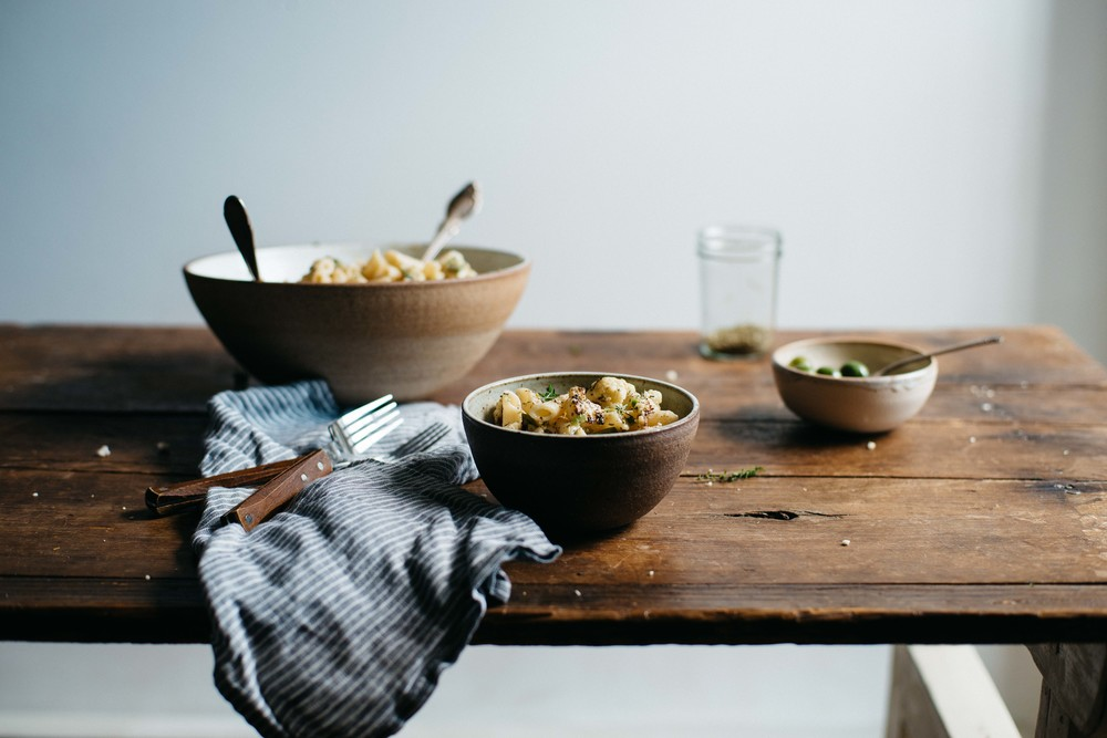 heidi's cauliflower pasta | dolly and oatmeal