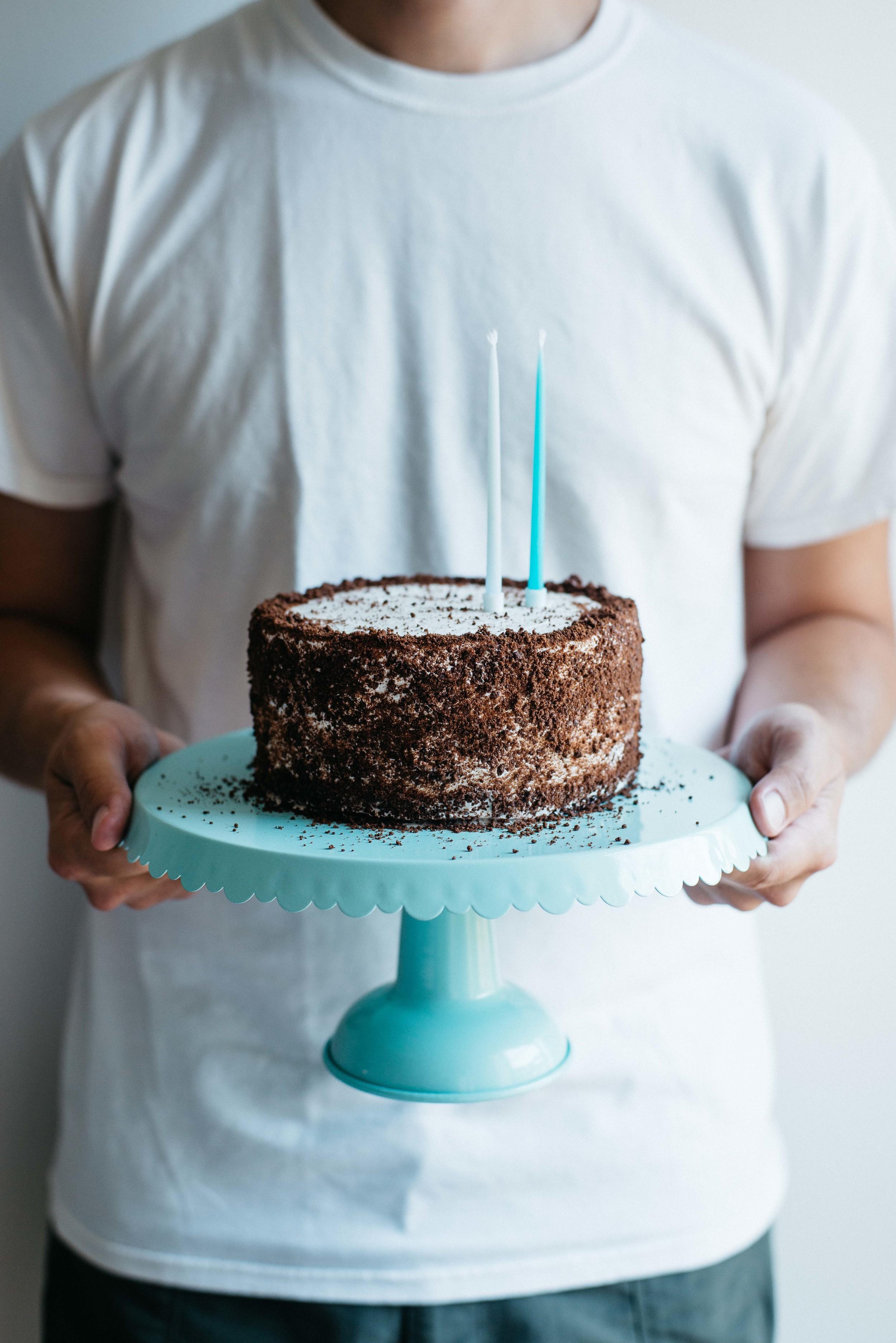 Cookies n cream birthday cake