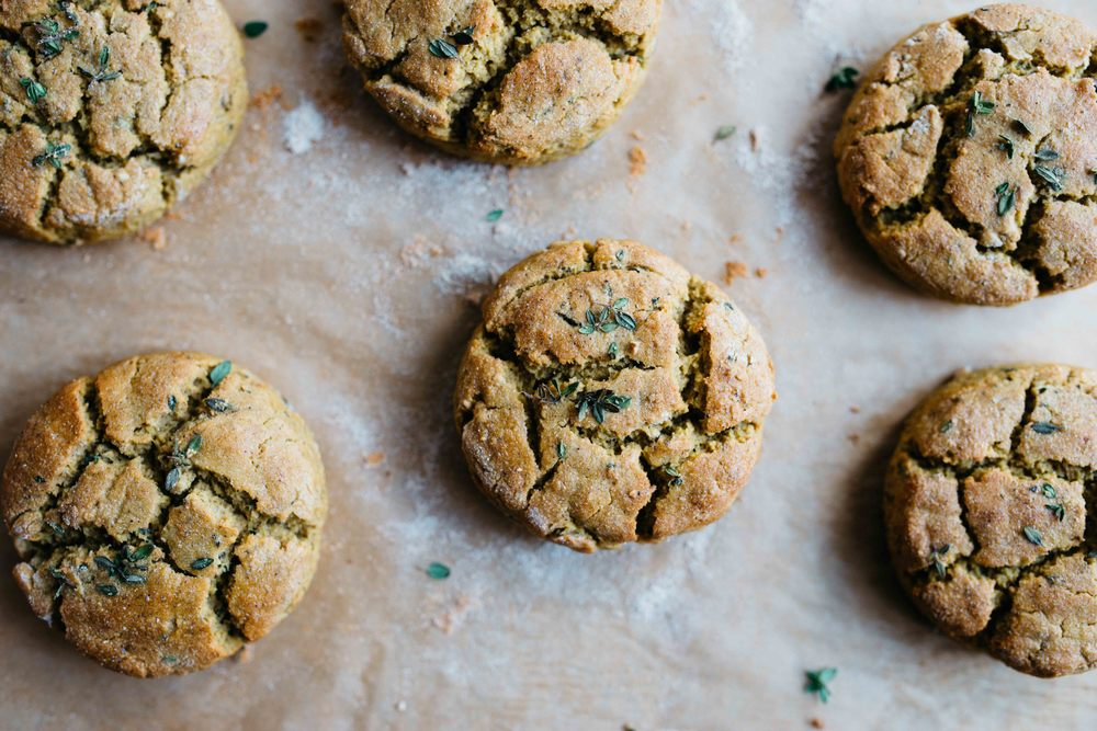 kabocha biscuits (v + gf) | dolly and oatmeal