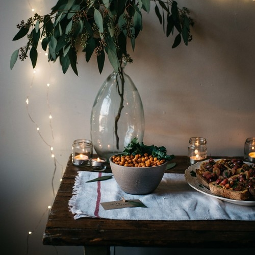 an easy holiday party menu