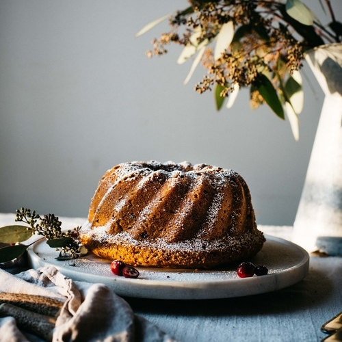 holiday butternut bundt cake