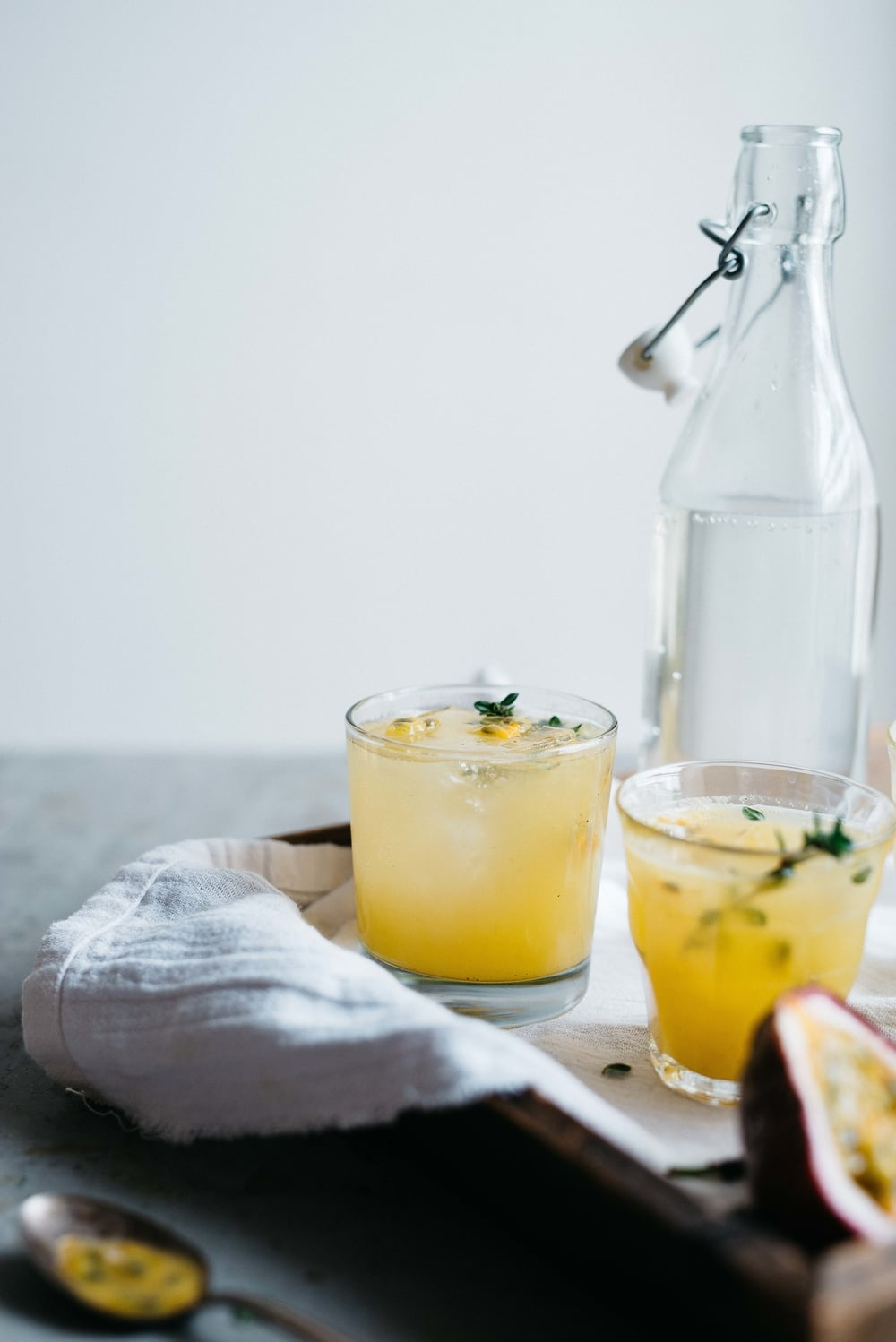 passion fruit + lemon-ginger fresca | dolly and oatmeal