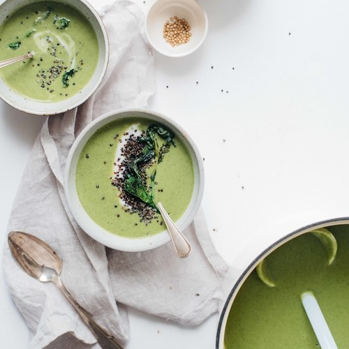 creamy broccoli rabe soup
