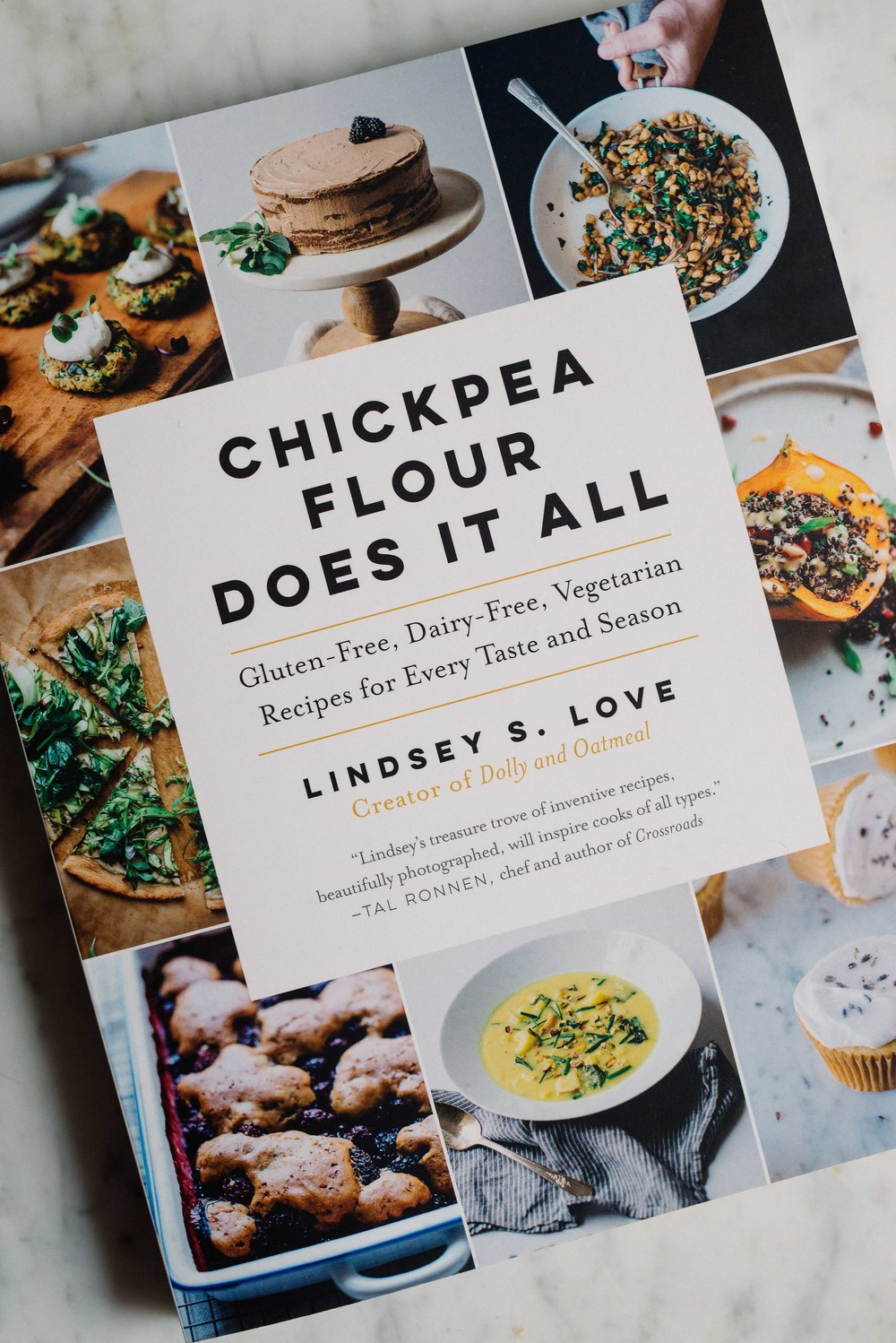 Chickpea Flour Does It All | Lindsey Love