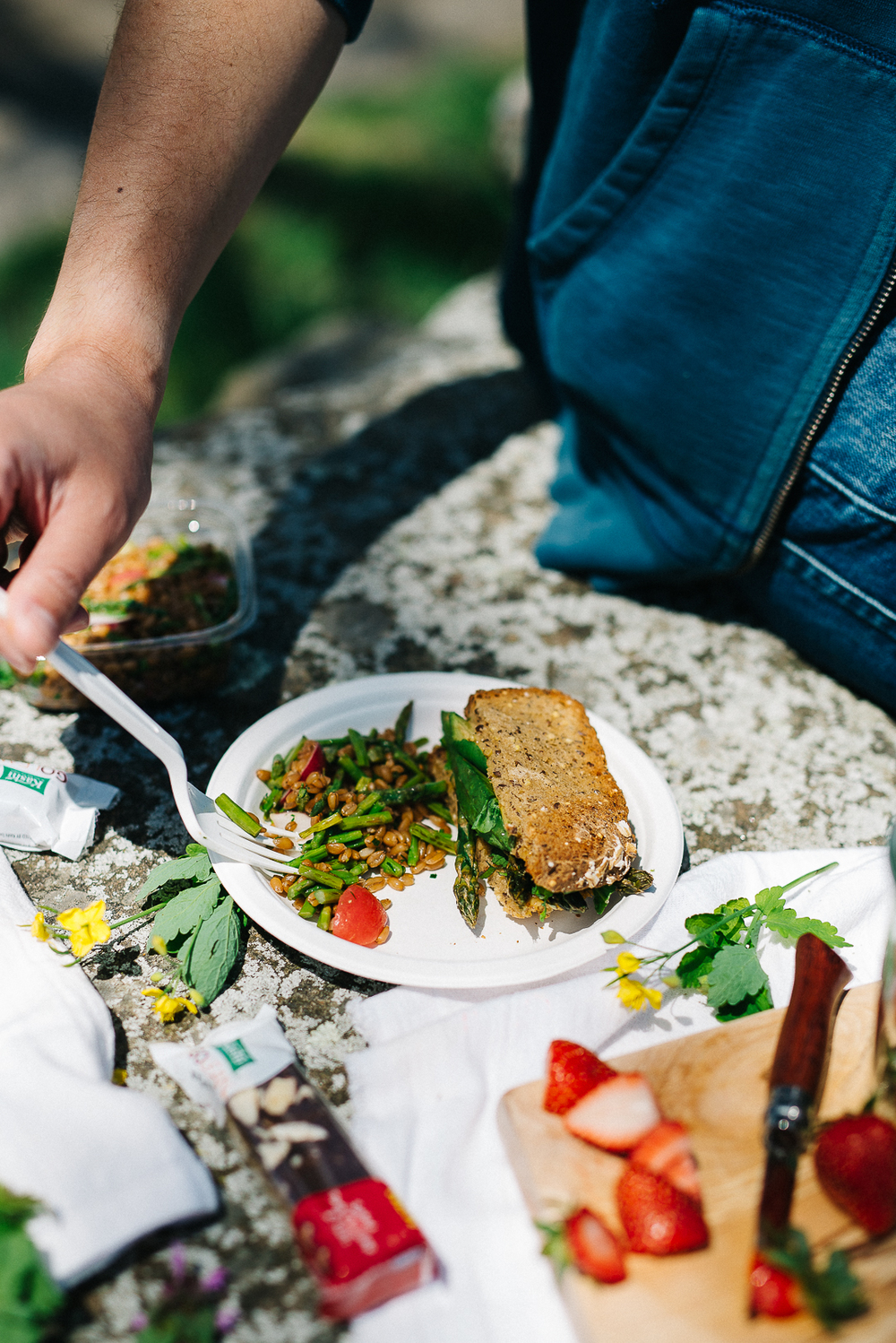 A Spring Picnic & My Easy Peasy Go-To Menu | dolly and oatmeal