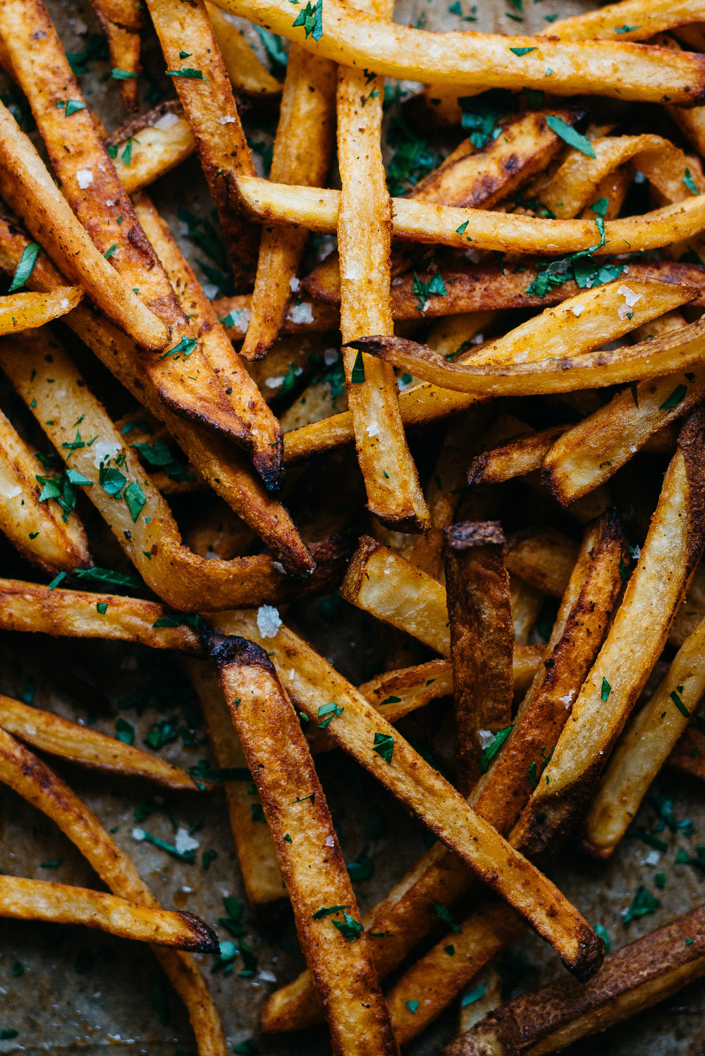 Summer Fridays!: Spicy Hummus (Oven) Fries | dolly and oatmeal