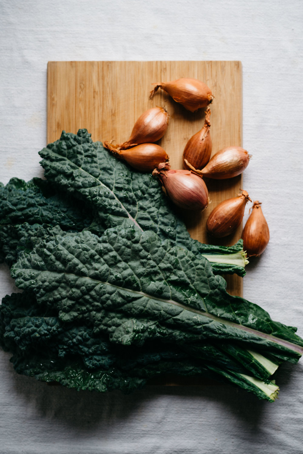 Shallots & Kale | dolly and oatmeal