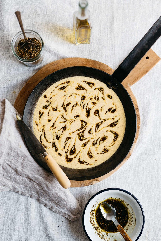 Za'atar Swirl Bread | dolly and oatmeal