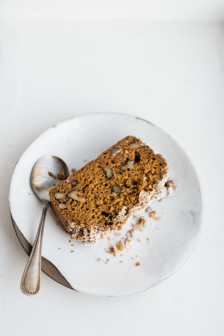 double coffee pumpkin cake