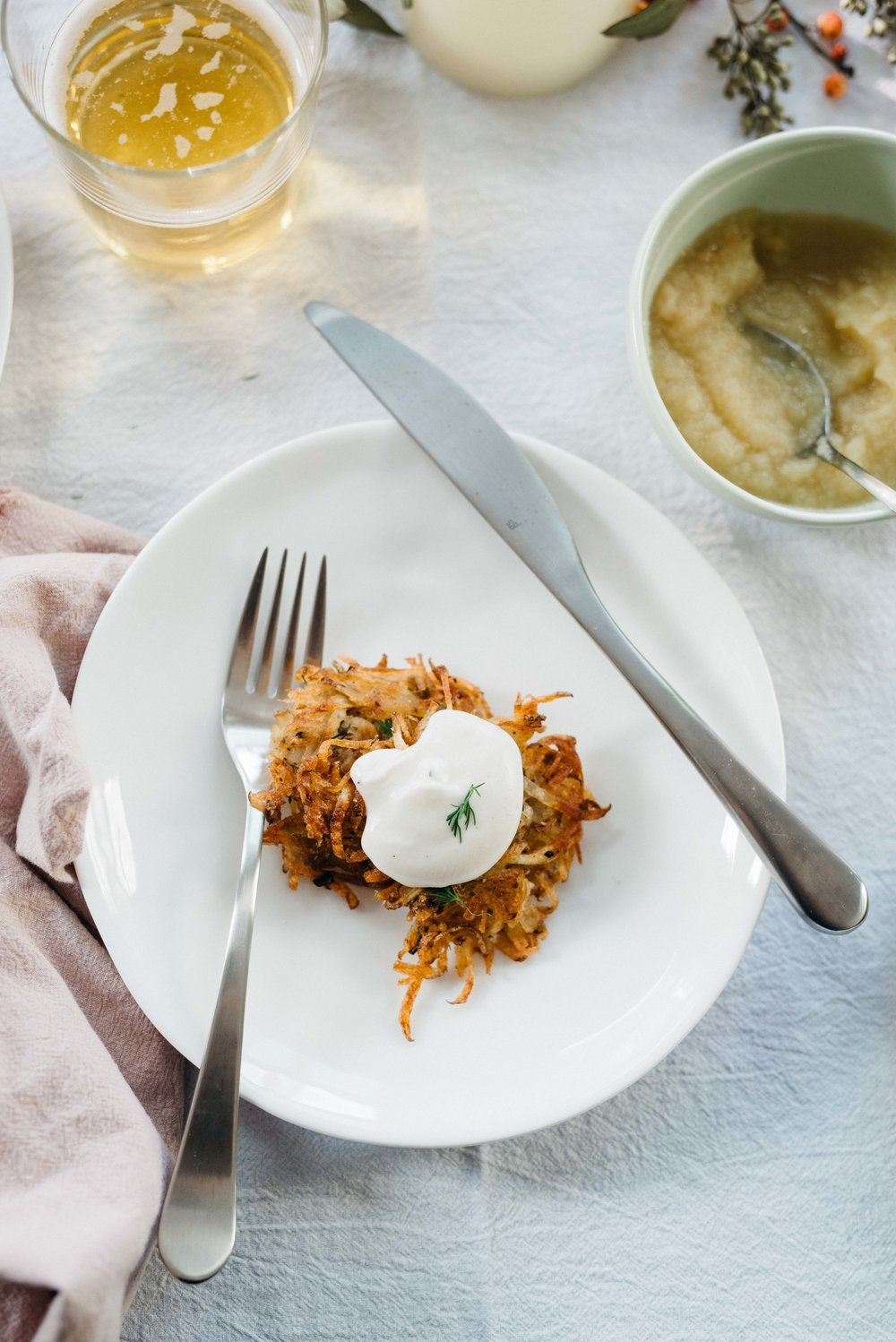 A Latke Party! | dolly and oatmeal