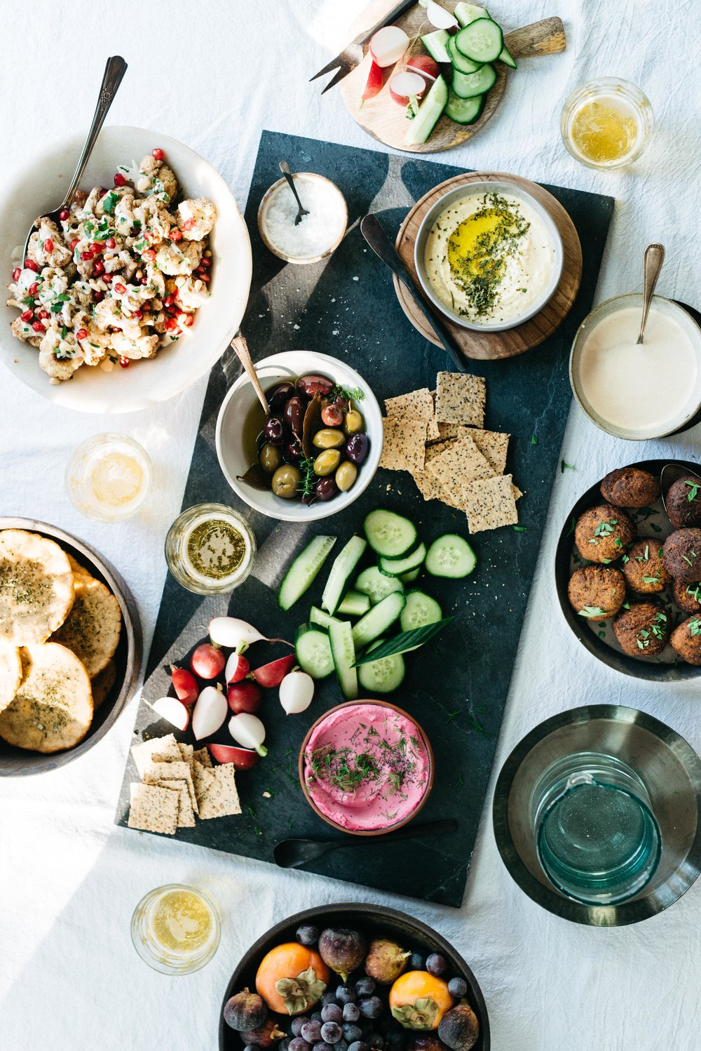 A Winter Mezze | dolly and oatmeal
