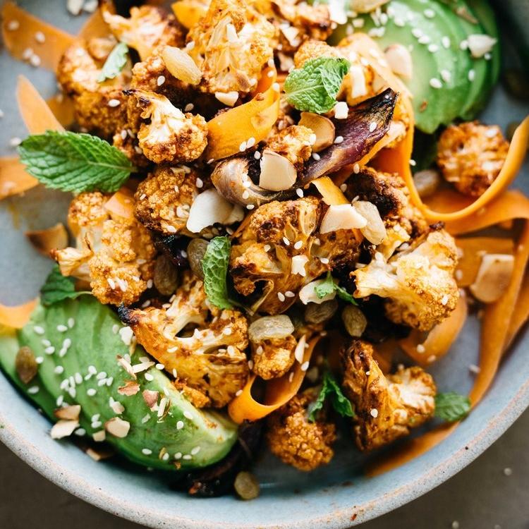 nina's moroccan harissa salad