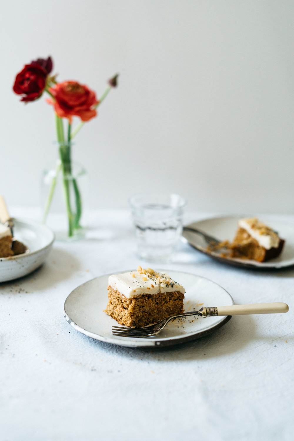 Coconut Carrot Sheet Cake | Dolly and Oatmeal