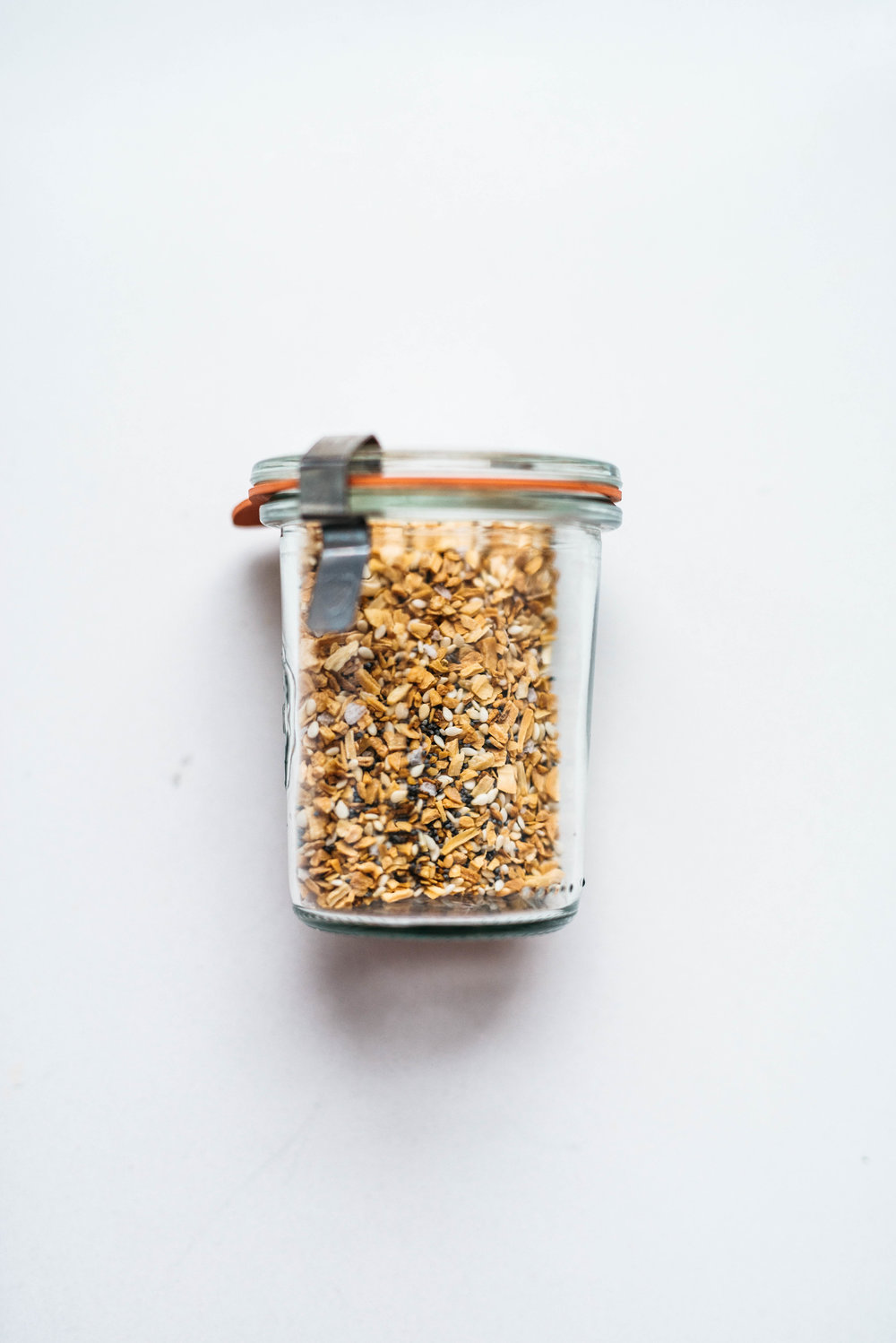 DIY EVERYTHING BAGEL SPICE | Dolly and Oatmeal