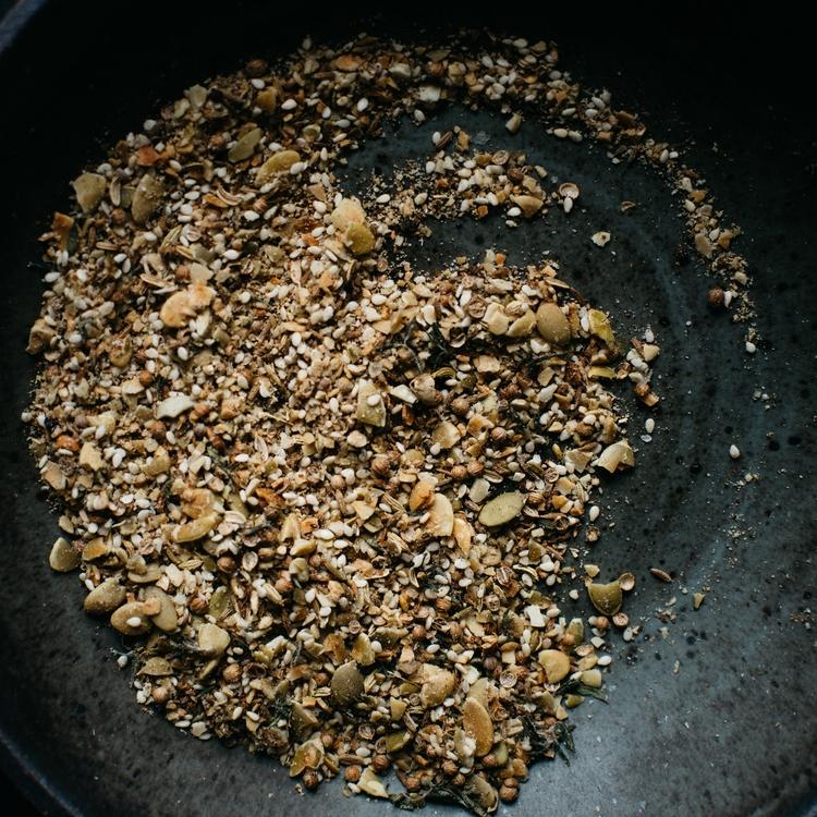 pumpkin seed dukkah