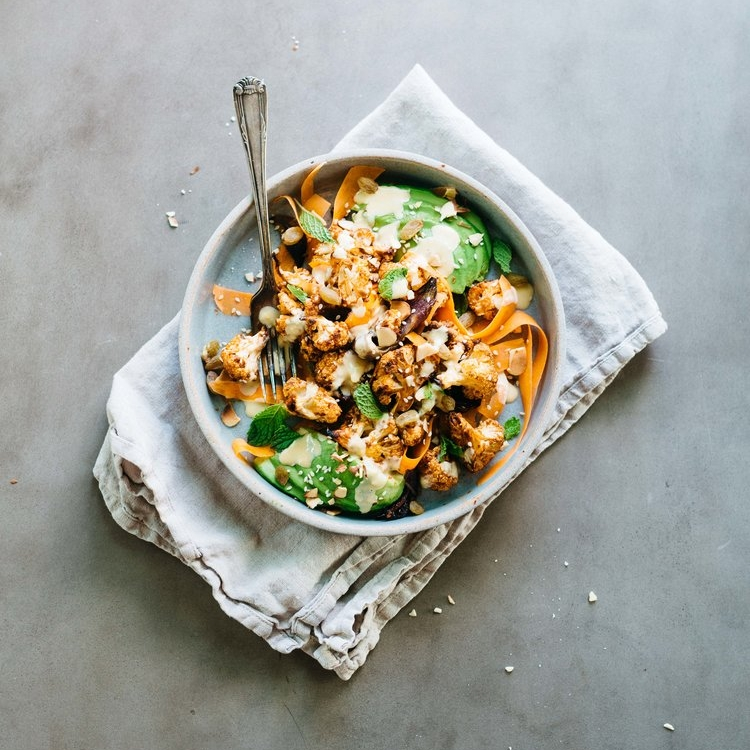 moroccan cauliflower salad