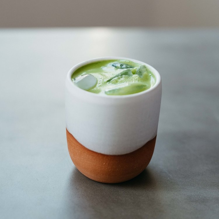 iced matcha latter, two ways