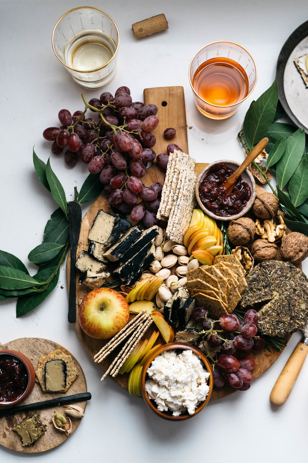 YOUR GO-TO VEGAN CHEESE BOARD & HOW TO PAIR IT WITH WINE | dolly and oatmeal