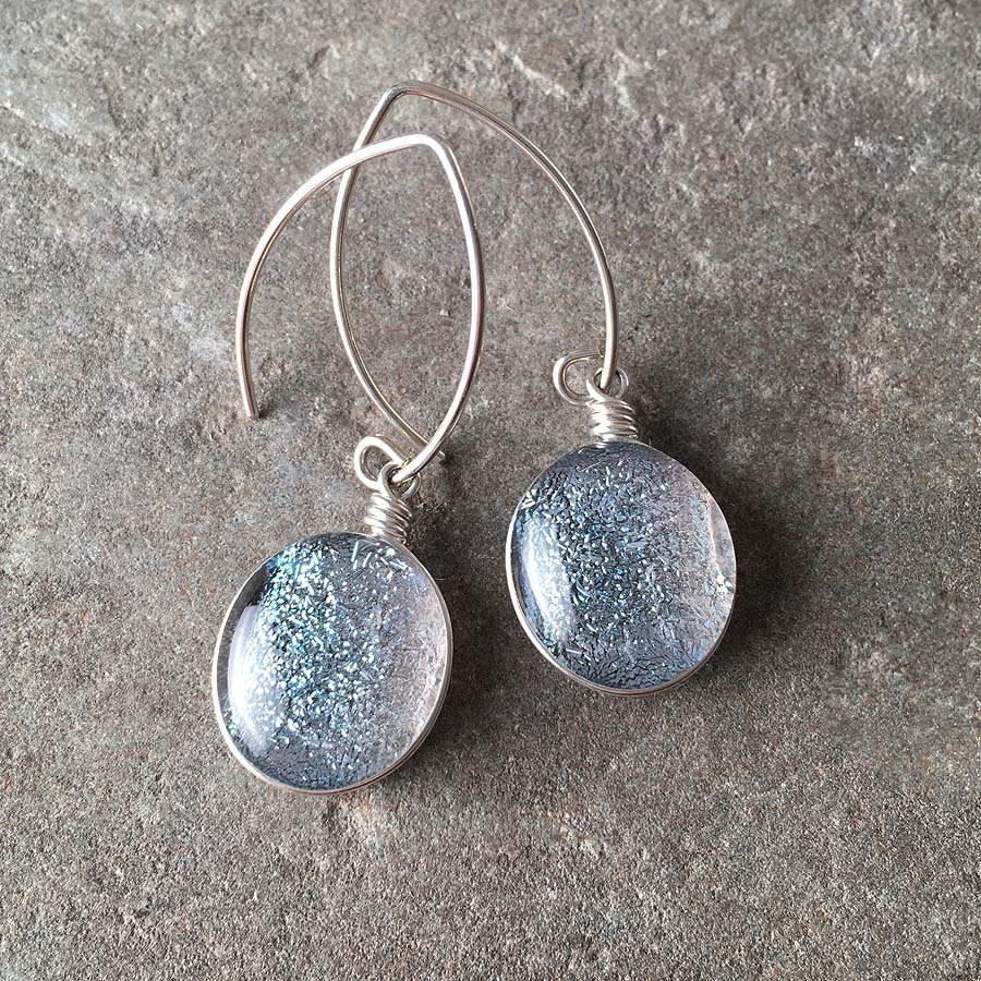 Sparkling Drop Earrings