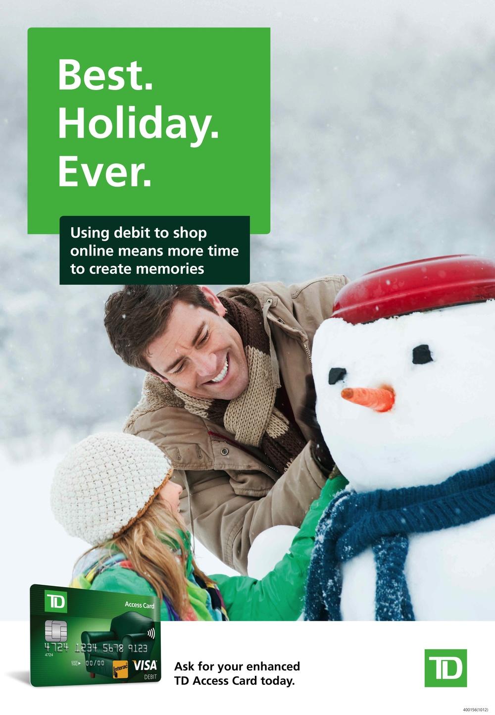 TD Canada Trust 2012 Holiday