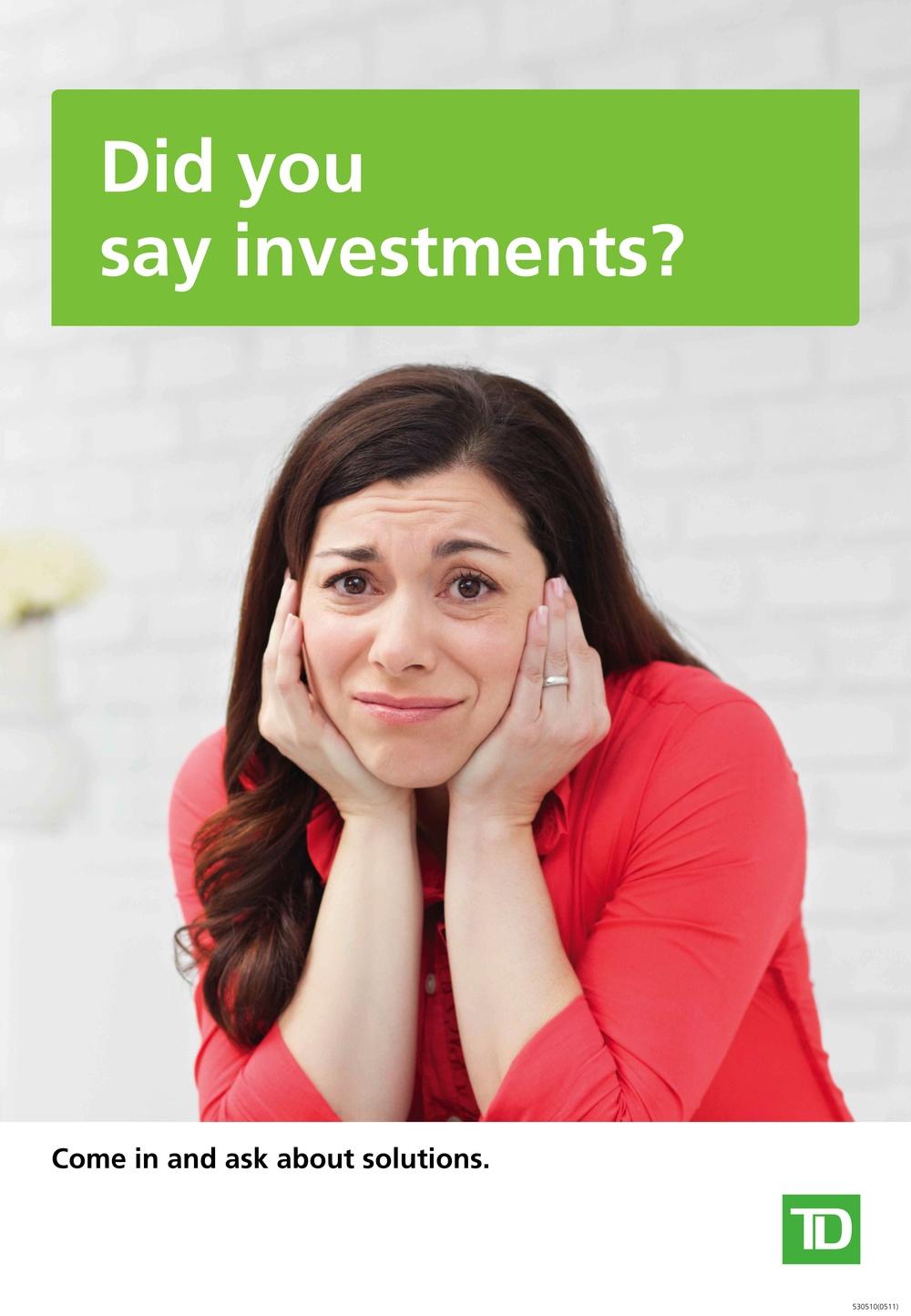 TD Canada Trust 2010 Investment