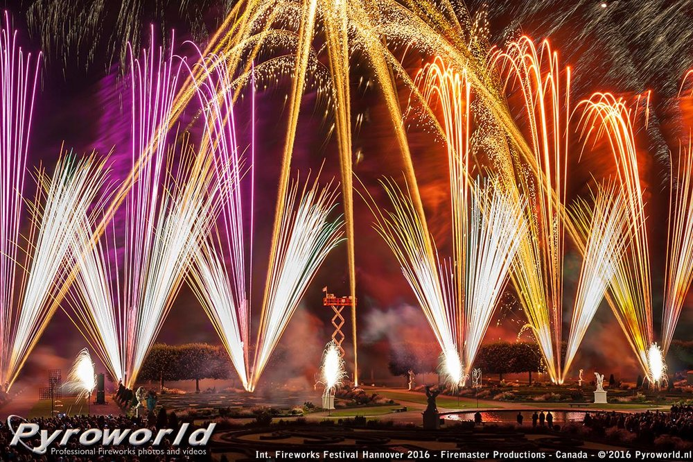 Photography by:  Pyro World