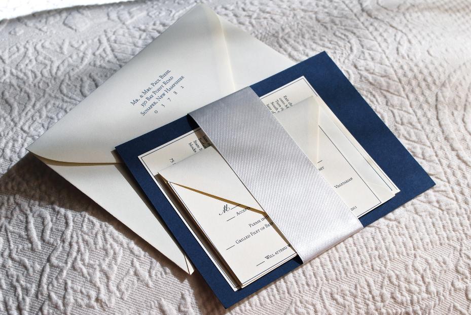 Boston Elegance Invitation Suite