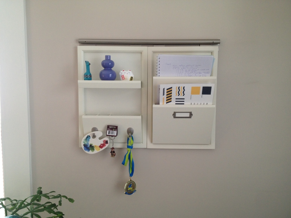 Letter Bin & Office Organizer from the Pottery Barn Daily System