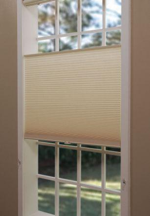 Cordless Top-Down Bottom-Up Cellular Shades from  Blinds.com