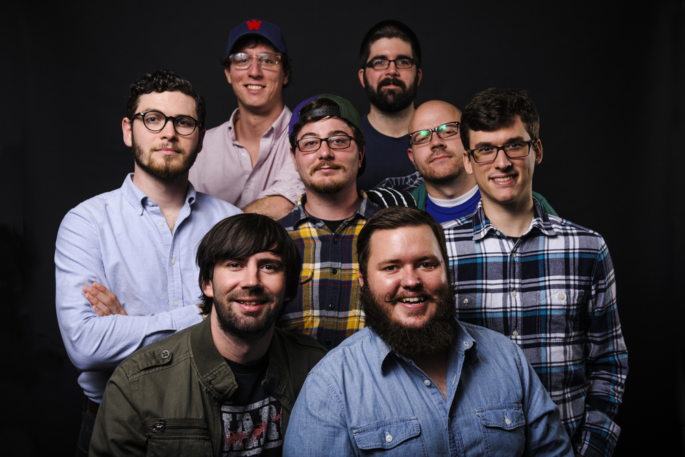 Top, left to right: Daniel Wagner & Josh Thomas Middle, left to right: Steven MacNeil, Tyler Marshall, Daniel Di Bona, Bill Friedman Bottom, left to right: TJ Ripp & Bob Baker