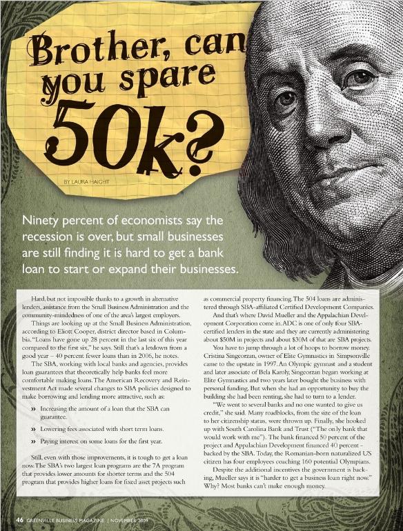 Small Business Loan crisis