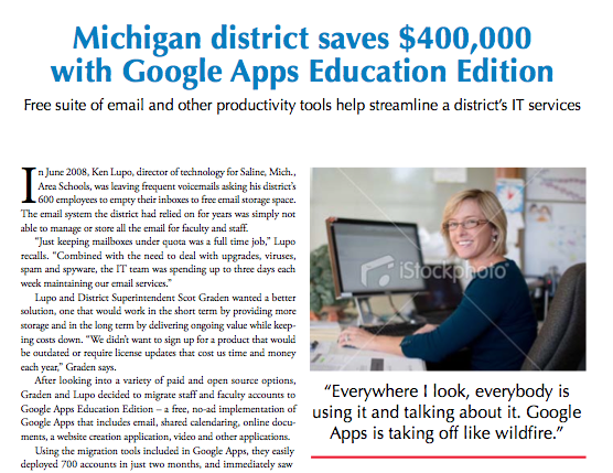 Google Apps in Education