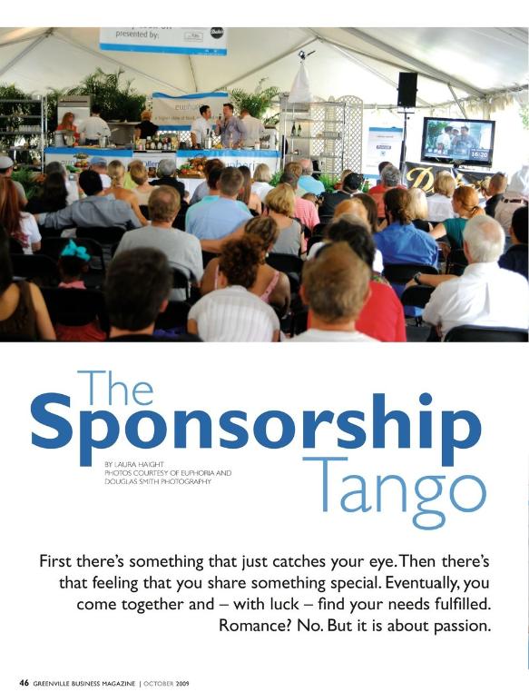 The Sponsorship Tango