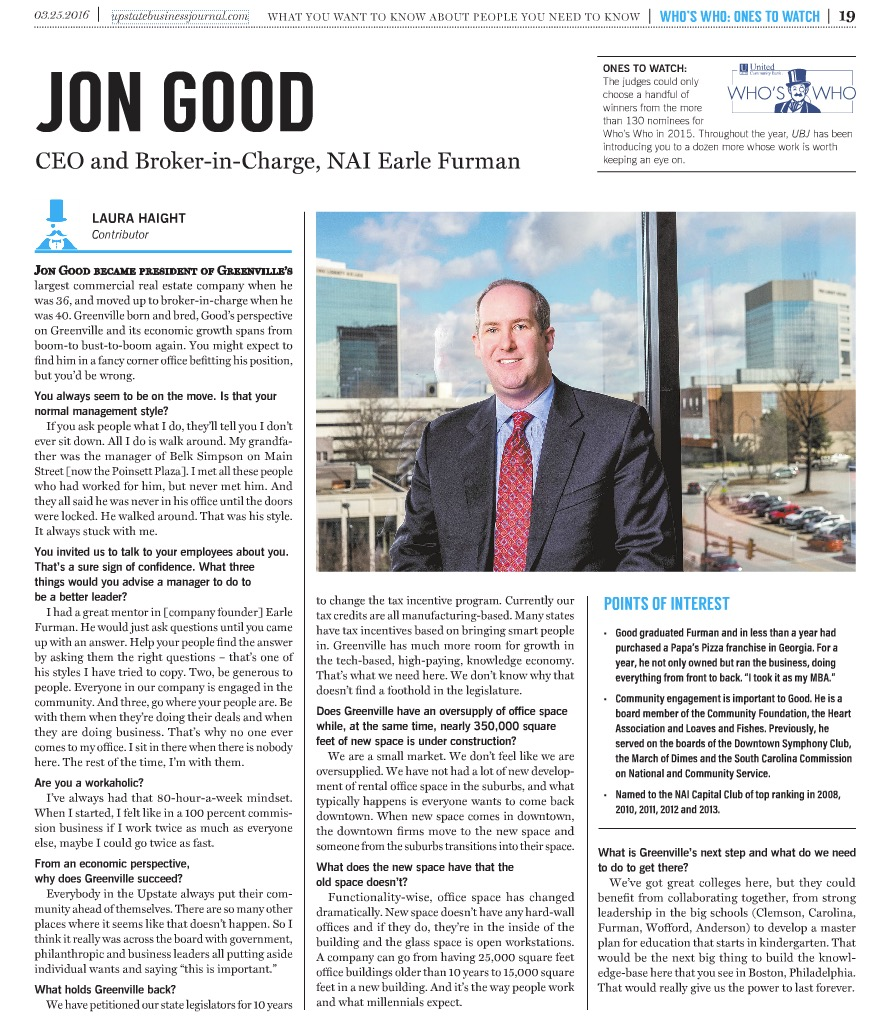 One to Watch: Jon Good