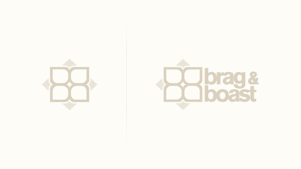 Brag & Boast is a youth and street centered urban jewelry brand. They wanted a logo that was simple and bold enough to hold up at small sizes when engraved on jewelry and also be strong at larger sizes. They also wanted a logo that could have a secondary function as a pattern. This BB/Flower concept is our solution.