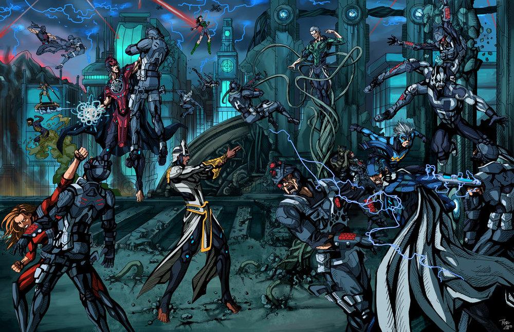 Deorum - Battle on Providence