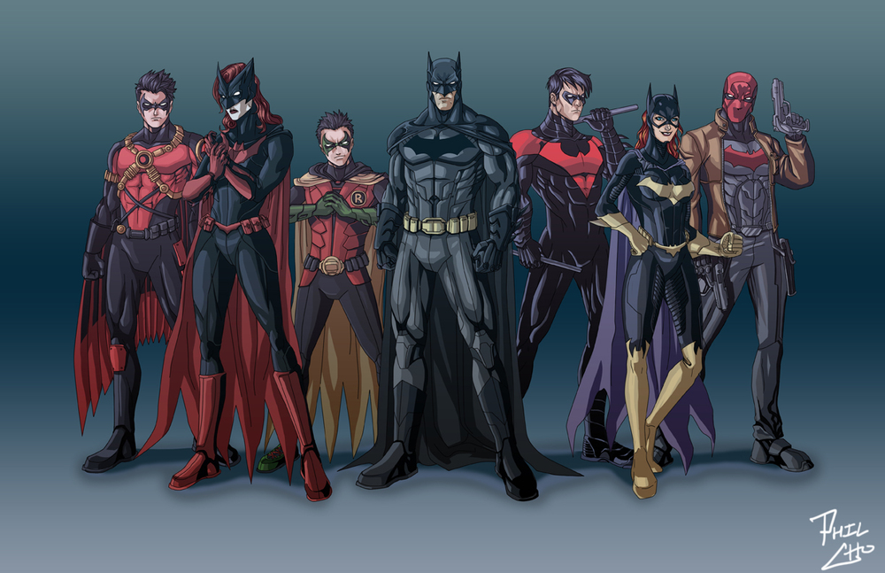 Bat Family Reboot