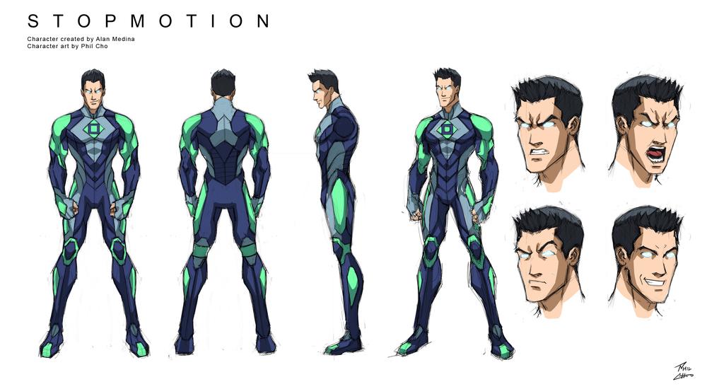 Character Design Villain : Character designs — phil cho